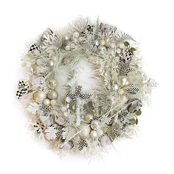 Snowfall Wreath
