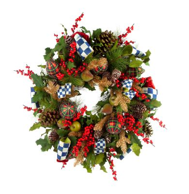 Royal Check Wreath