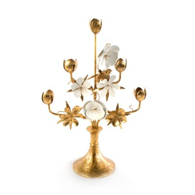 Golden Flower Candlestick