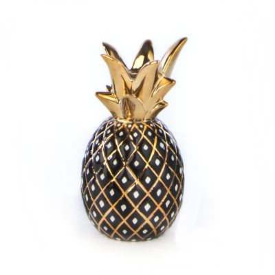 Pineapple Candle Holder - Small - Black