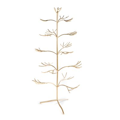 Wire Ornament Tree - Gold