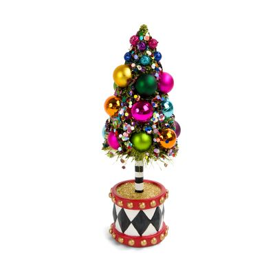 Nutcracker Bottle Brush Tree - Mini