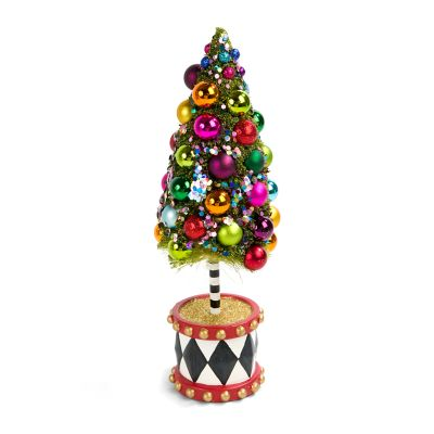 Nutcracker Bottle Brush Tree - Small