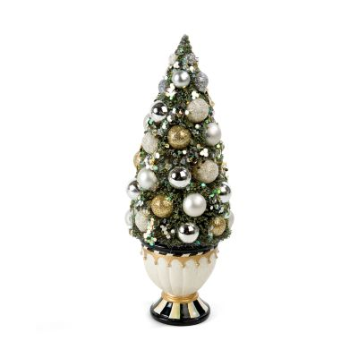 Silver Lining Bottle Brush Tree - Small