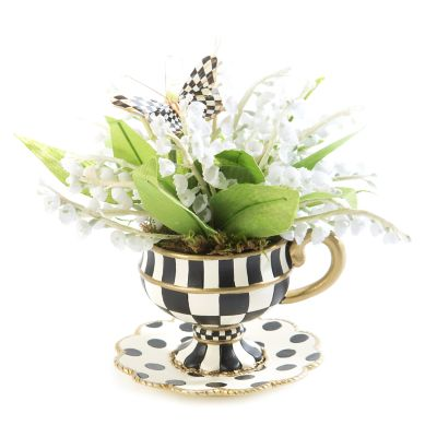 Lily of the Valley Demitasse