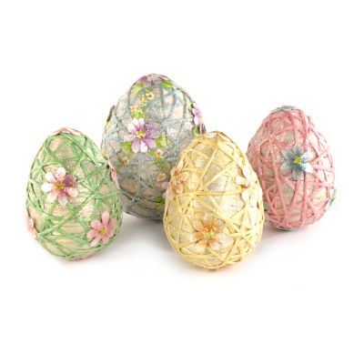 Trellis Eggs - Set of 4