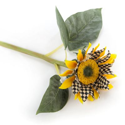 Courtly Check Sunflower - Yellow