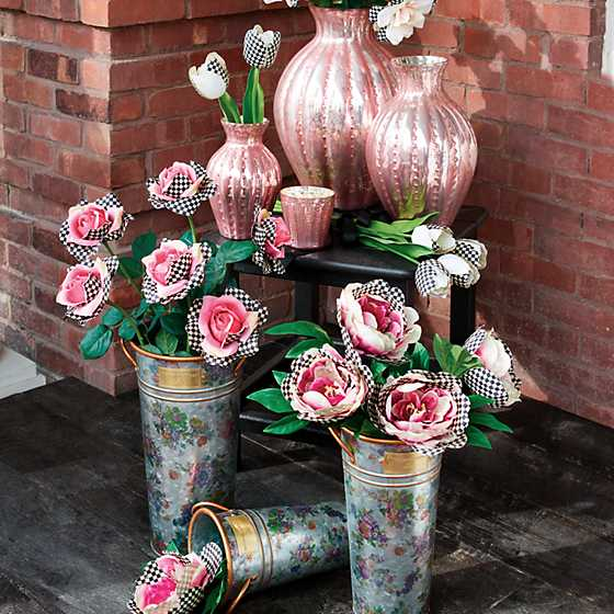 Courtly Check Rose - Pink image two