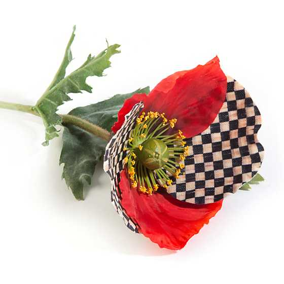 Courtly Check Poppy - Red image three