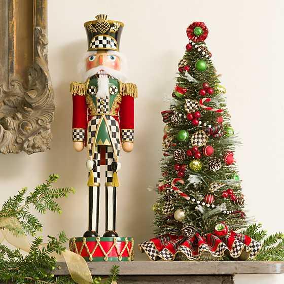 Mackenzie Childs Christmas Ornaments.Mackenzie Childs Highland Nostalgia Tree