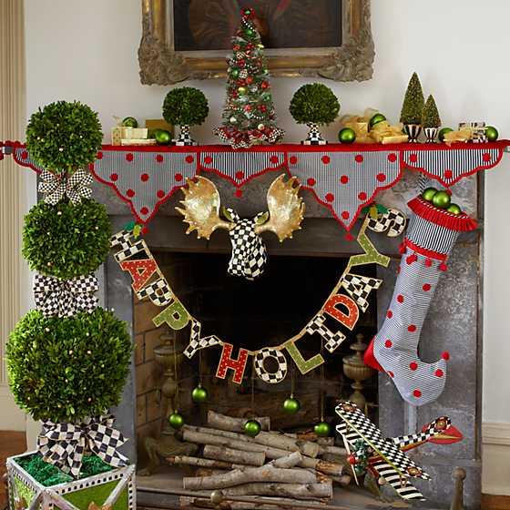 Mackenzie Childs Christmas.Mackenzie Childs Highland Nostalgia Tree
