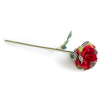 Courtly Check Rose - Red