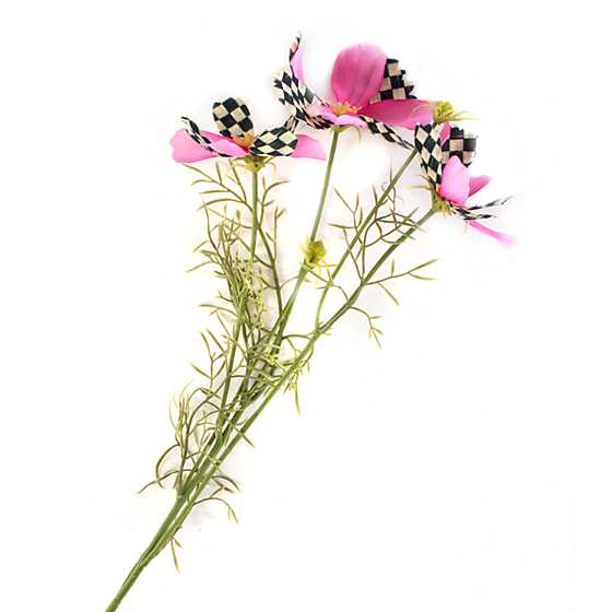 Courtly Check Cosmos Spray - Pink image one