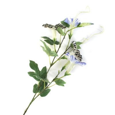 Courtly Check Morning Glory Spray - Blue