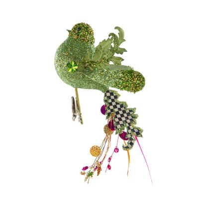 Paradise Bird Clip - Green