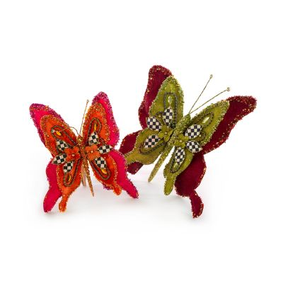 Paradise Butterfly Clips - Set of 2
