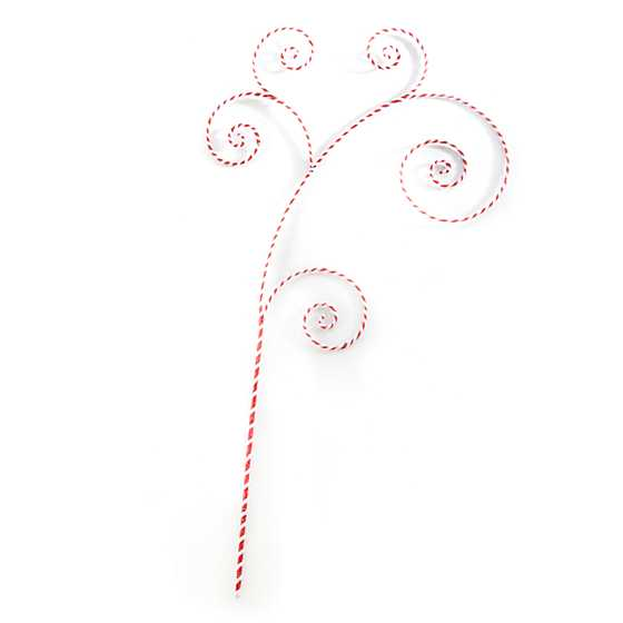 Happy Holidays Peppermint Swirl Pick image two