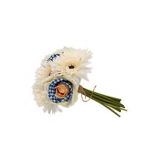 Royal Check Bouquet - White image two