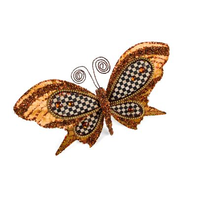 Gold Butterfly Clip - Medium