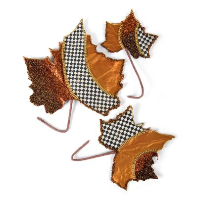 Maple Leaves - Set of 3