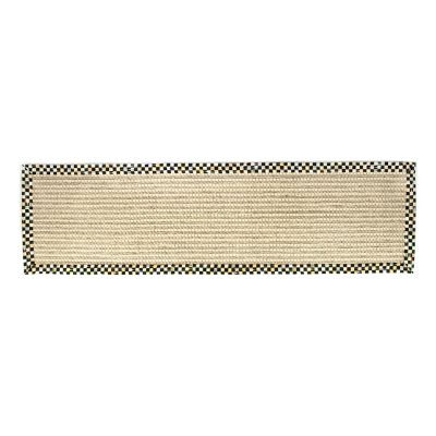 "Cable Wool/Sisal Rug - 2'6"" x 9' Runner"