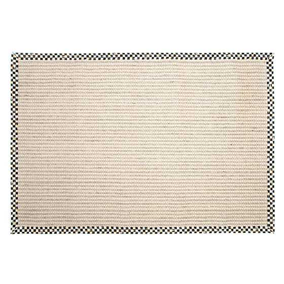 Cable Wool/Sisal Rug - 6' x 9' image one