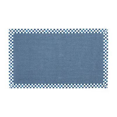 Royal Check Blue Sisal Rug - 3' x 5'