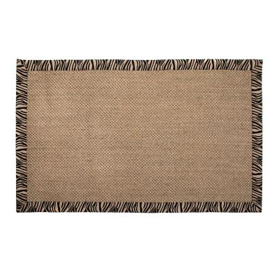 Image for Zebra Sisal Rug - 3' x 5'