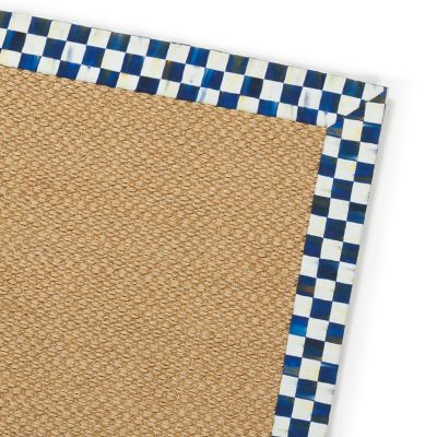 Royal Check Sisal Rug - 6' x 9'