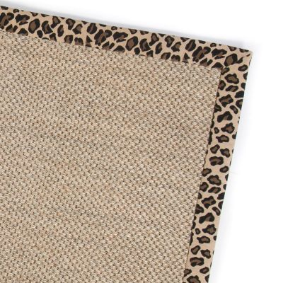 Image for Leopard Sisal Rug - 2' x 3'
