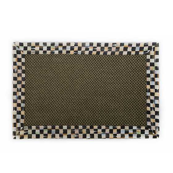 Courtly Check Olive Sisal Rug - 2' x 3'