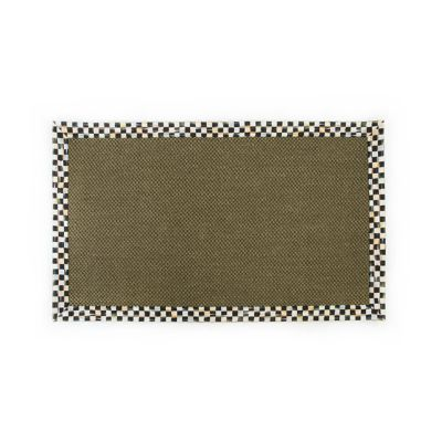 Courtly Check Olive Sisal Rug - 3' x 5'