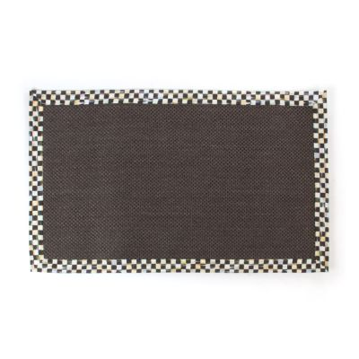 Image for Courtly Check Black Sisal Rug - 3' x 5'