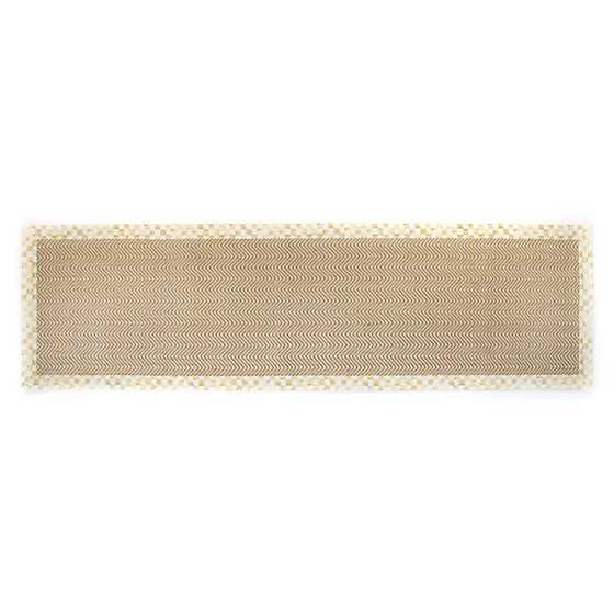 Mackenzie Childs Chevron Wool Sisal Rug 2 6 Quot X 9 Runner