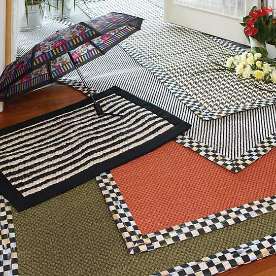 Courtly Houndstooth Jute/Sisal Rug - 2' x 3' image two