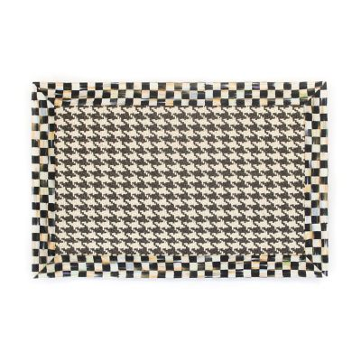 Courtly Houndstooth Jute/Sisal Rug - 2' x 3'