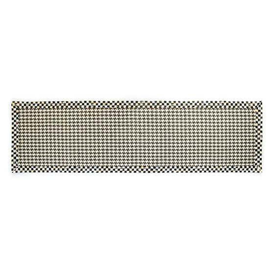 "Courtly Houndstooth Jute/Sisal Rug - 2'6"" x 9' image one"