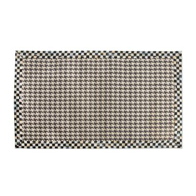 Courtly Houndstooth Jute/Sisal Rug - 3' x 5'