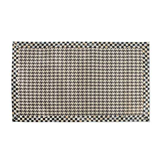 Courtly Houndstooth Jute/Sisal Rug - 3' x 5' image one
