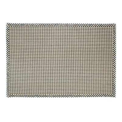 Courtly Houndstooth Jute/Sisal Rug - 6' x 9'