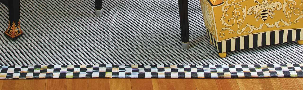 Courtly Twill Rug - 3' x 5' Banner Image