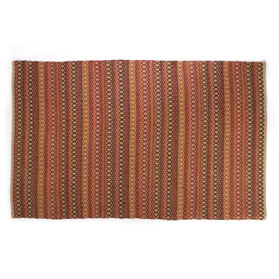 Lattice & Dot Rug - Harvest - 5' x 8'