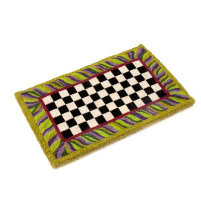 Image for Courtly Check Entrance Mat