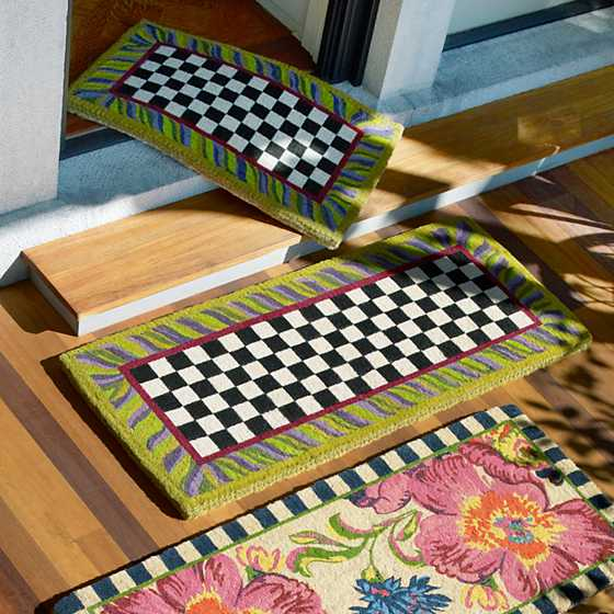Courtly Check Double Door Entrance Mat image two