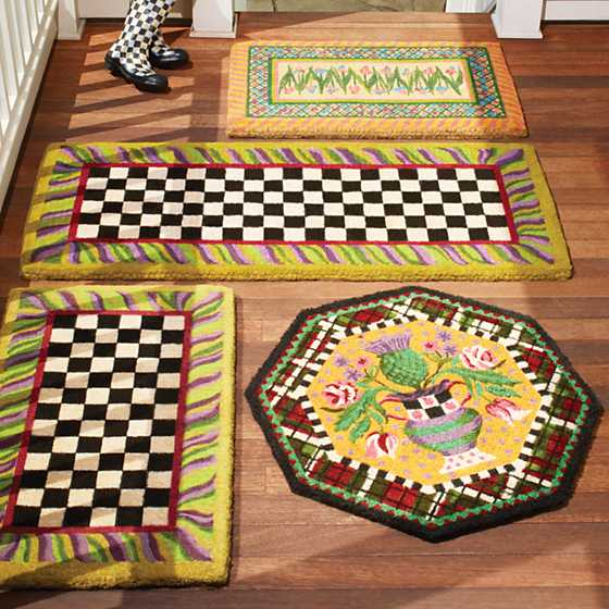 Courtly Check Double Door Entrance Mat image three