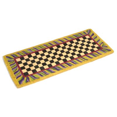 Image for Courtly Check Double Door Entrance Mat