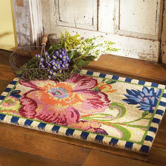 Flower Market Entrance Mat image two