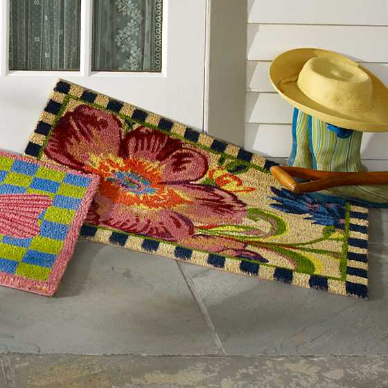 Flower Market Entrance Mat image three