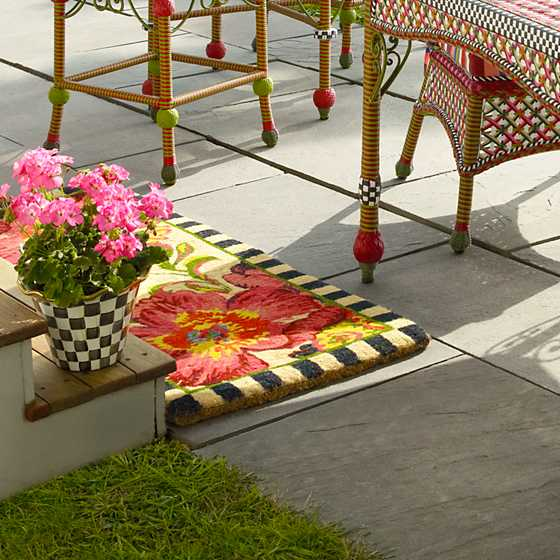 Flower Market Double Door Entrance Mat image two