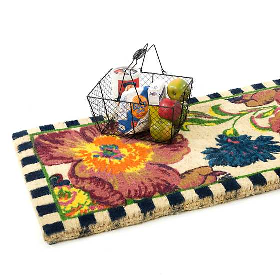 Flower Market Double Door Entrance Mat image three